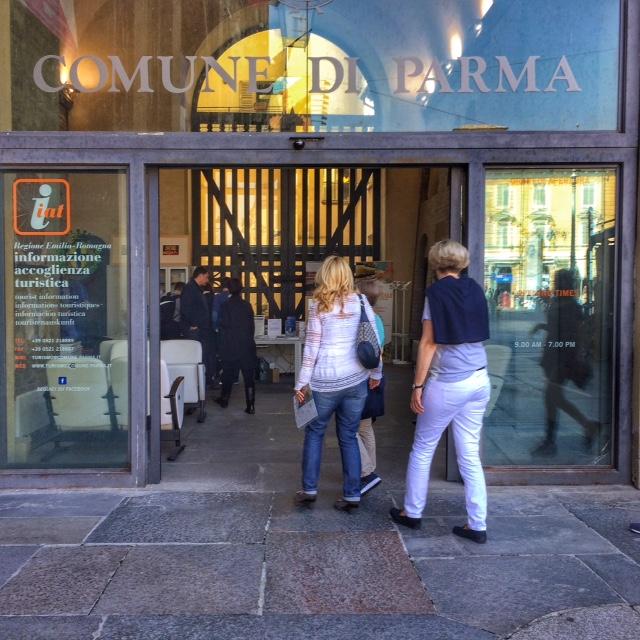 Ingresso Ufficio turistico Parma
