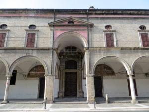 Ospedale_Vecchio_(Parma)_-_ingresso_all'oratorio_di_Sant'Ilario_2019-06-10
