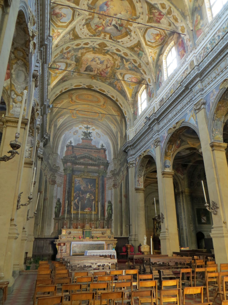 Chiesa di Santa Cristina navata