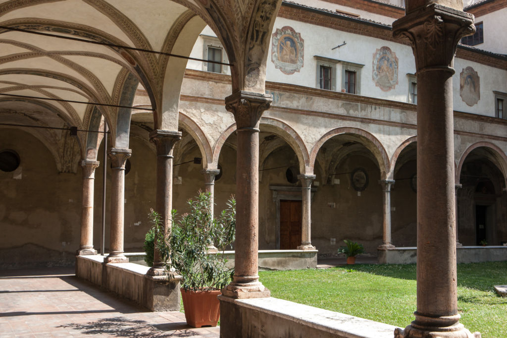 Chiostro Monastero di San Giovanni Evangelista