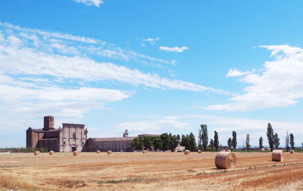 Csac abbazia Valserena esterno