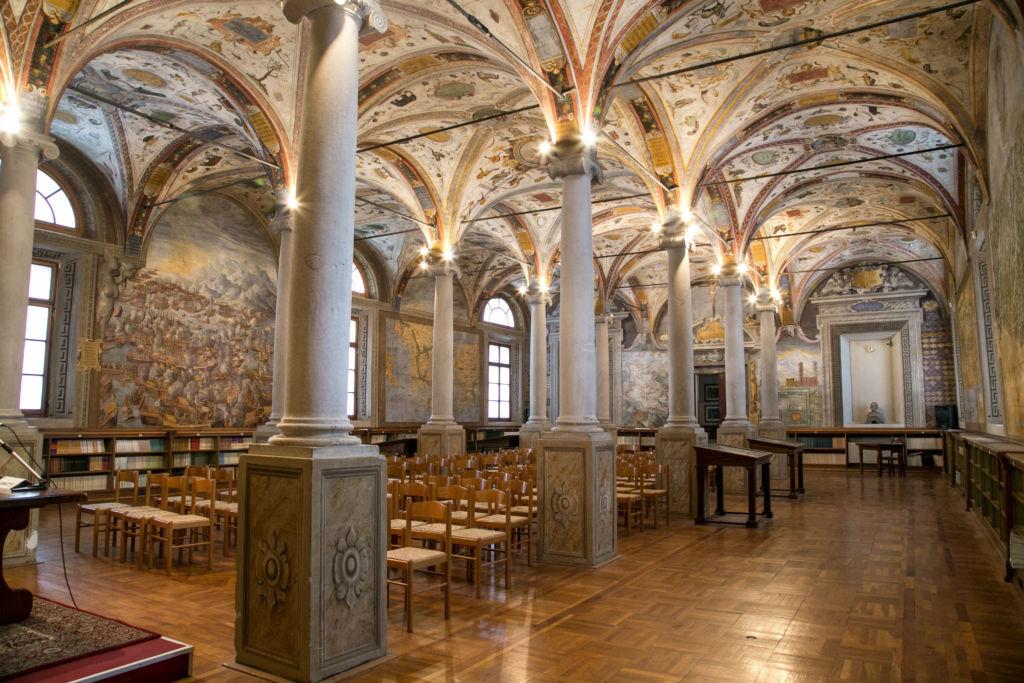 biblioteca chiesa san giovanni