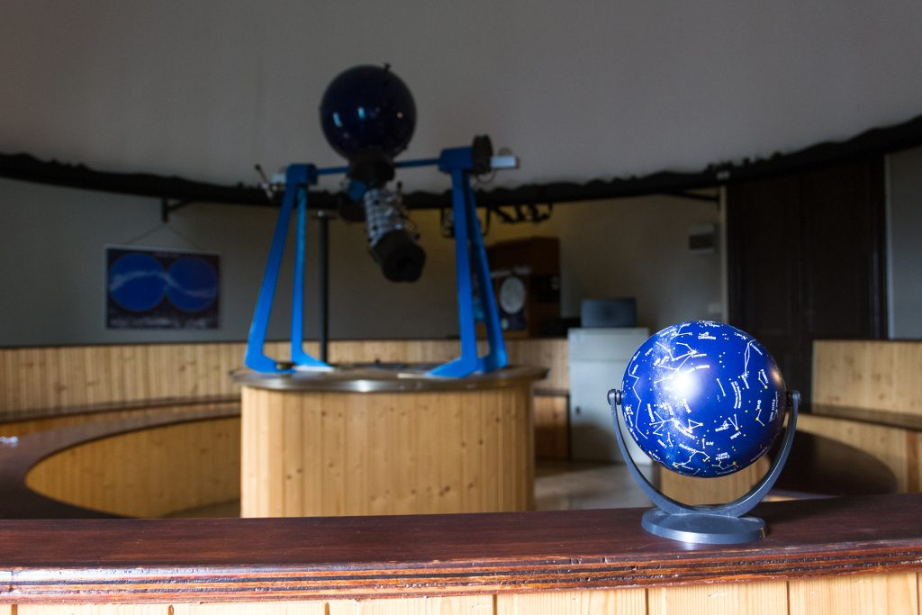 Planetario Bedonia interno