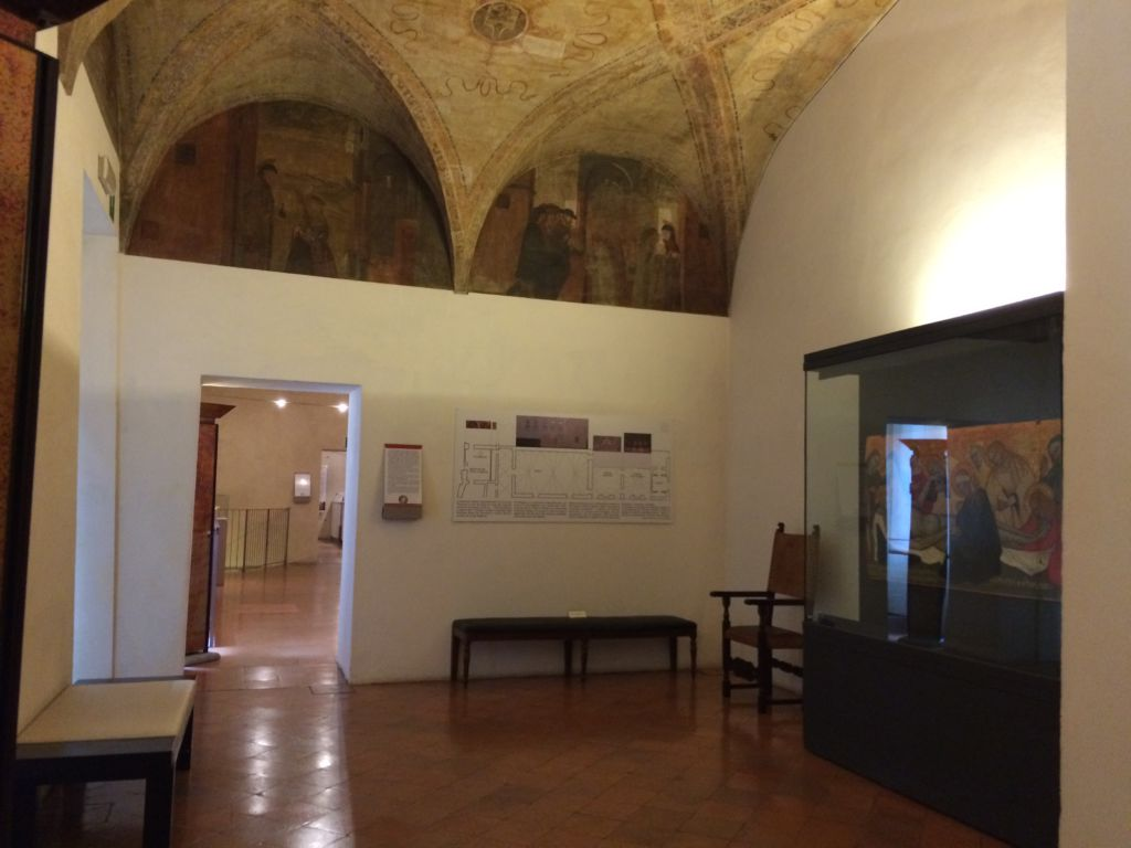 Pinacoteca Stuard ingresso