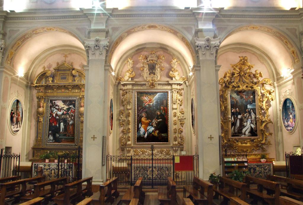Santuario di Fontanellato interno