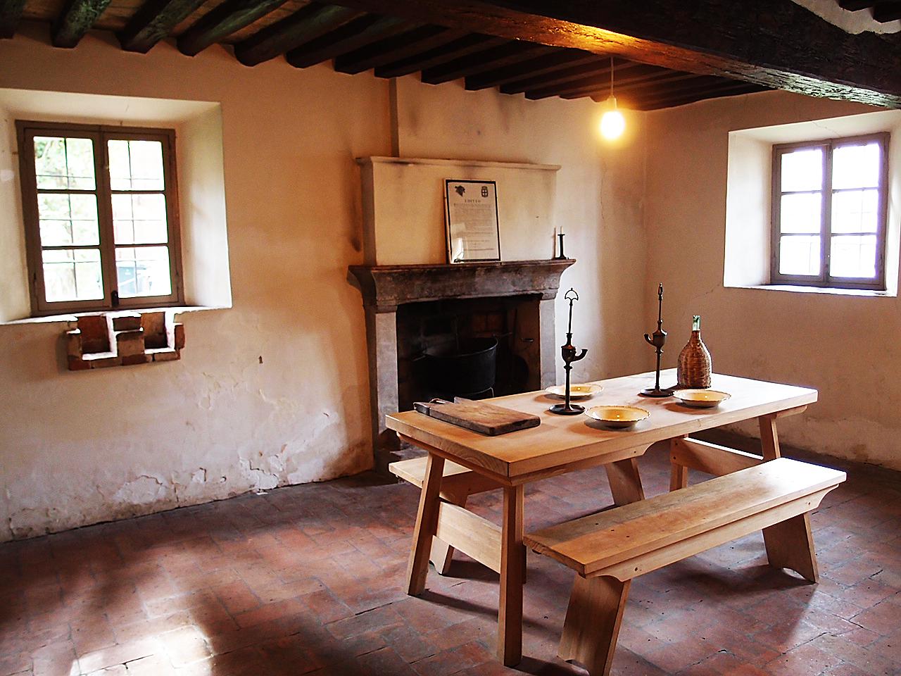 Casa natale di Giuseppe Verdi interno