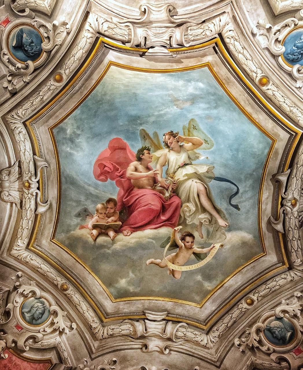soffitto  Palazzo Pigorini