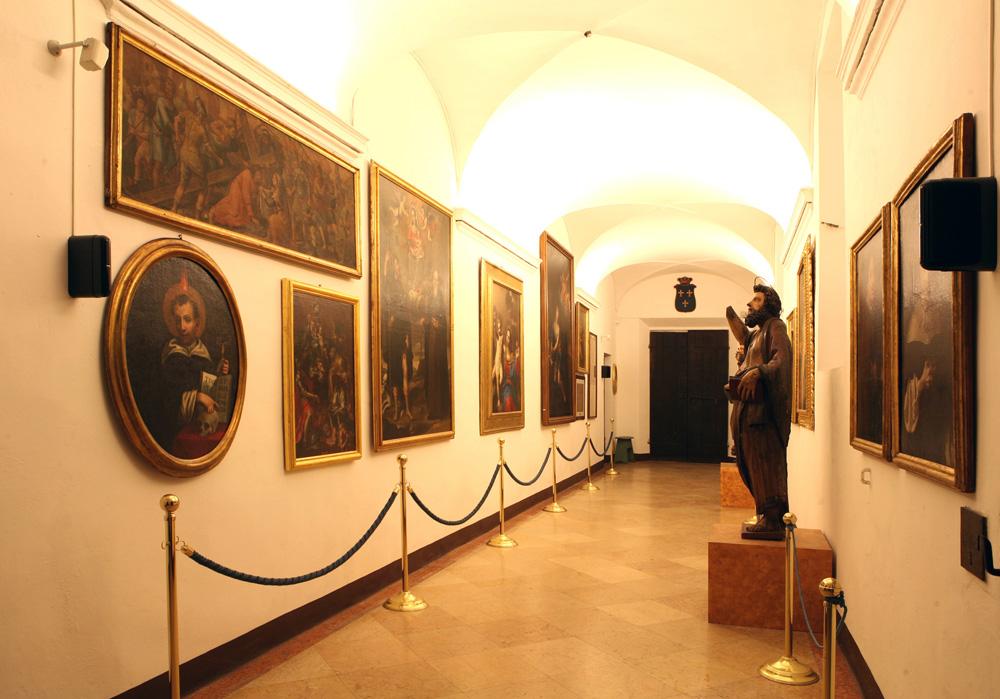 Museo costantianiano interno