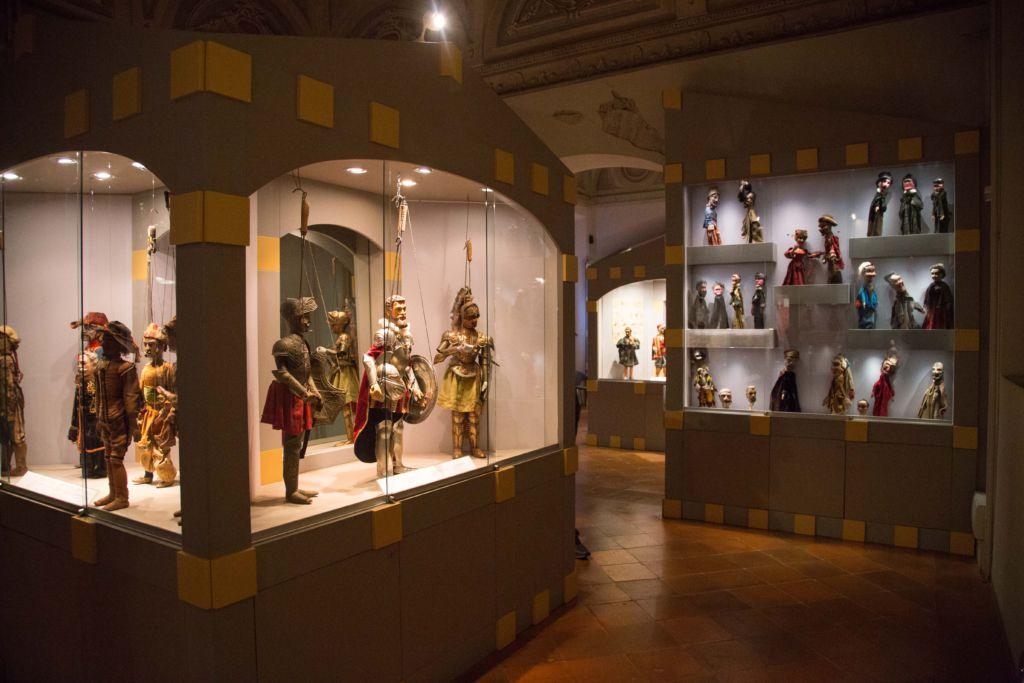 Museo dei Burattini_interno