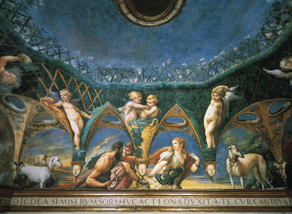 Rocca Sanvitale Sala di Diana e Atteone