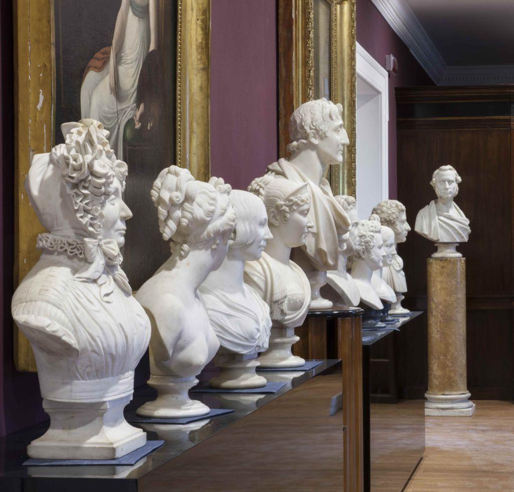 Museo Labirinto Franco Maria Ricci scultue