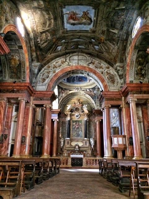 Chiesa di Sant'Alessandro interno
