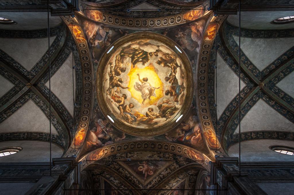 cupola del Correggio_Chiesa di San Giovanni Evangelista