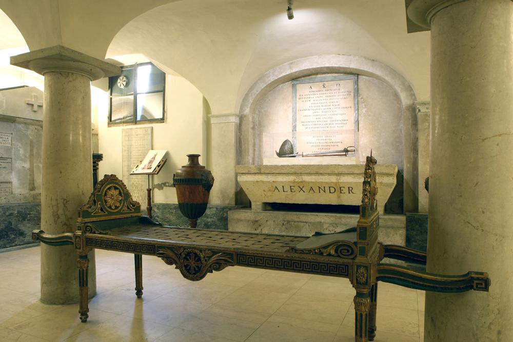 Museo Costantianinao della Steccata interno