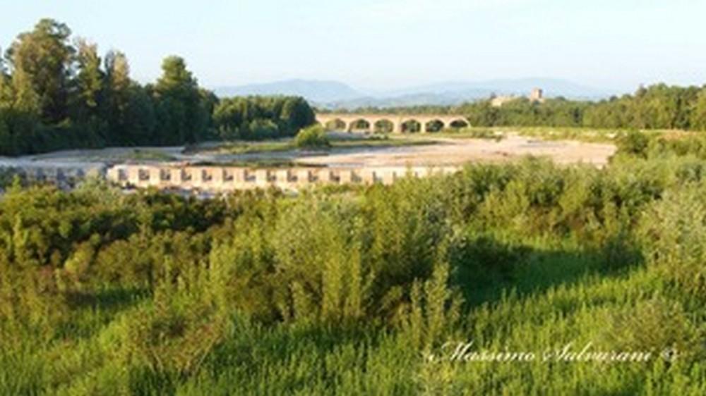 Escursione nel greto del torrente Parma
